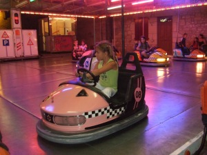 Bumper car ride for younger children