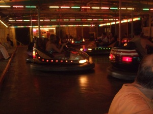 Bumper-car ride in Daglan