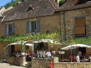 Restaurant in Beynac, France