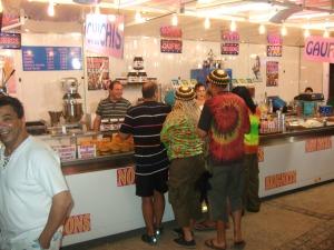Candy shack at the Daglan fair