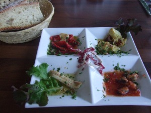 Picture of tapas appetizer course