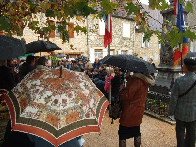 Jour Armistice ceremony in Daglan, France