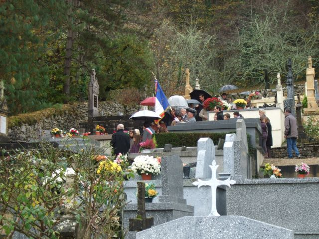 The cemetery in Daglan, France