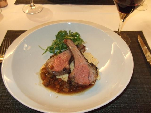 Grilled lamb chops