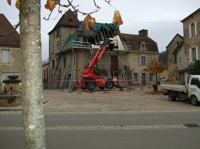 Roofing project, Daglan, France