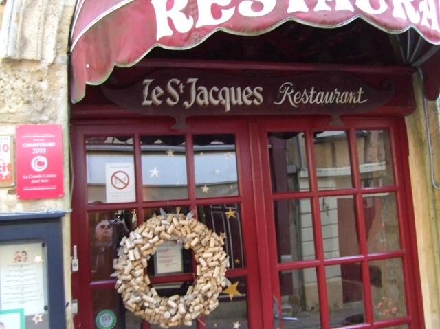 Front of Le St Jacques