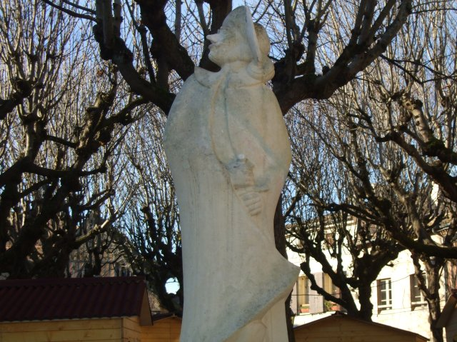 Statue of Cyrano de Bergerac