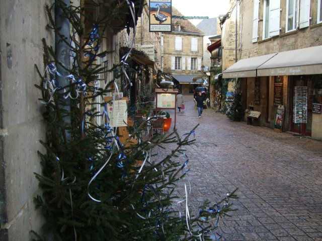 Street in Sarlat, France