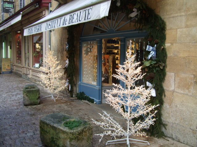 Perfume shop in Sarlat.