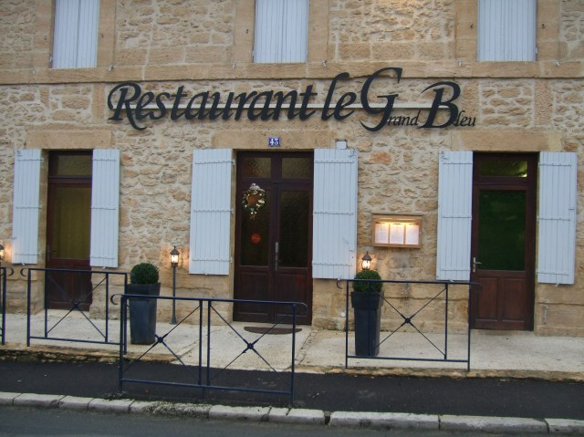 Entrance of Le Grand Bleu