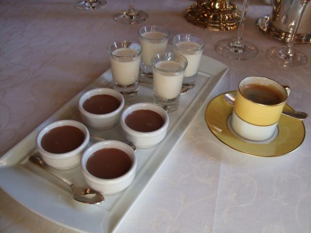 After the dessert