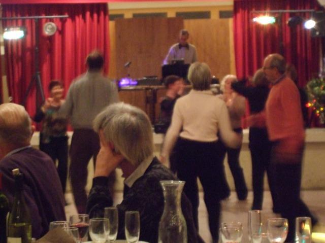 Dancing in Daglan, France