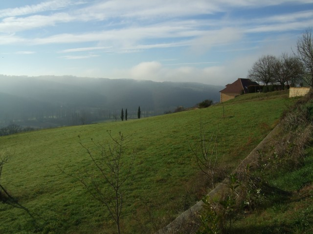 A beautiful view from Le Peyruzel