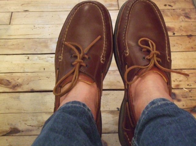 Boater shoes