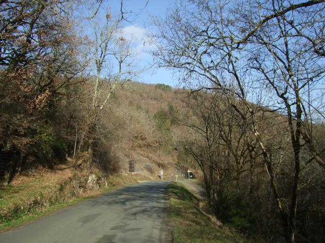 The road from Daglan
