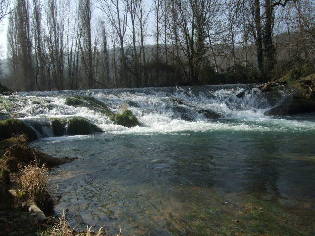 The Céou River near Daglan