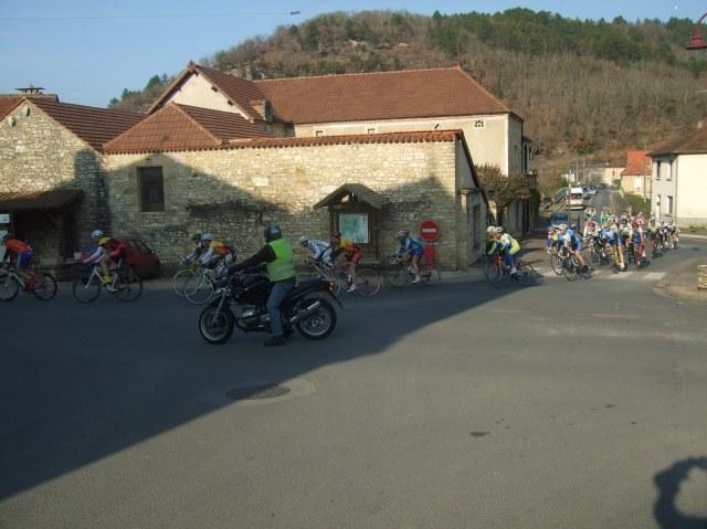 Bike race in Daglan
