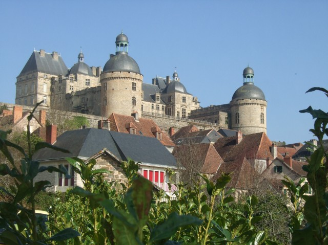 Chateau at Hautefort