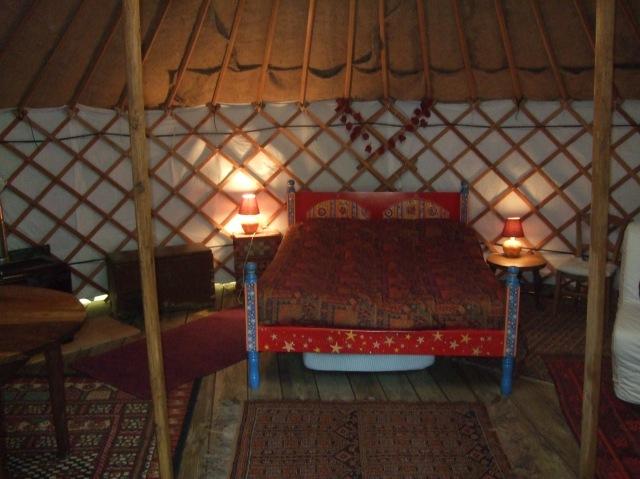Yurt bed