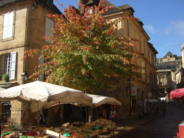 Market in Sarlat