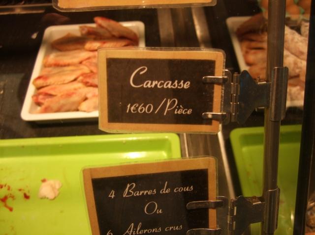Duck carcass sign