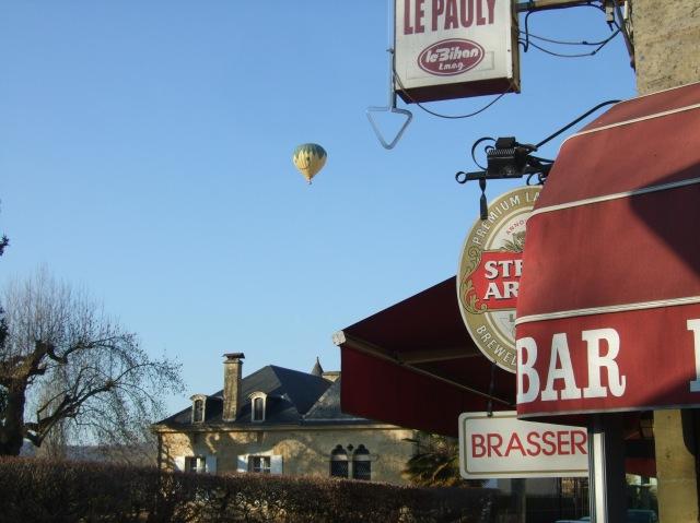 Balloon and bar