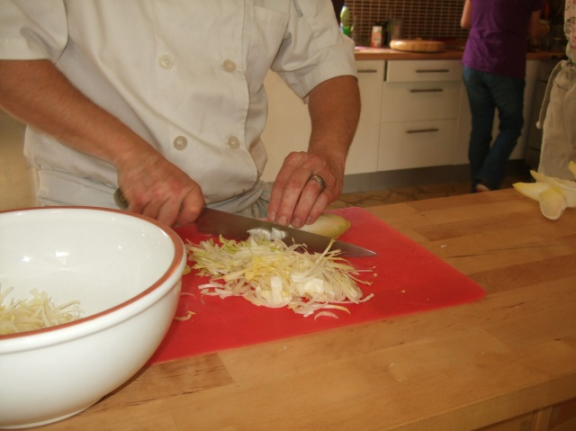 Slicing for salad