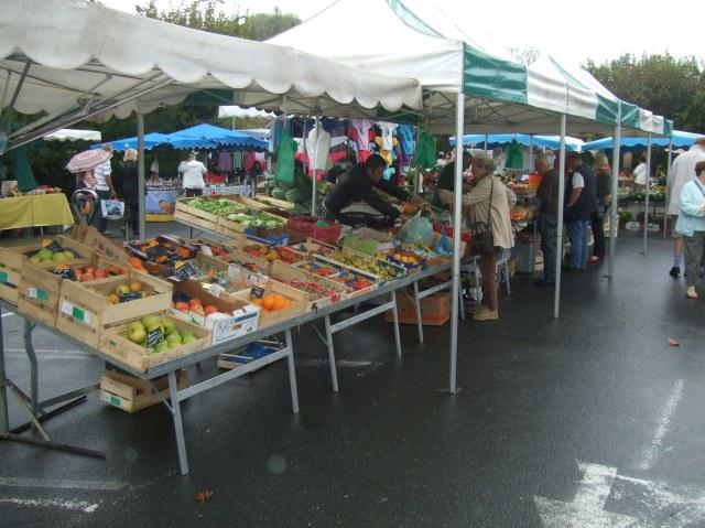 Veggie stall