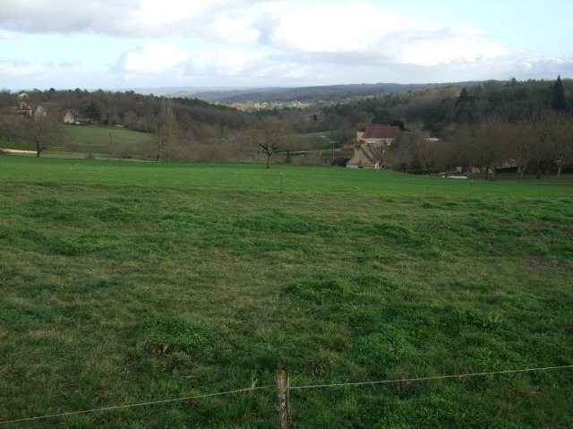 The view from Mas de Cause, above Daglan.
