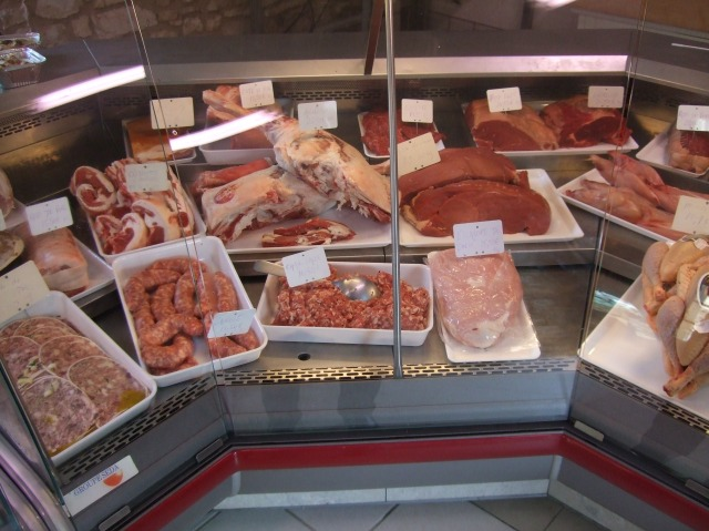 A wide variety of meats, ready to be cut and trimmed to order.