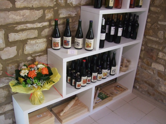 A selection of beers and wines.