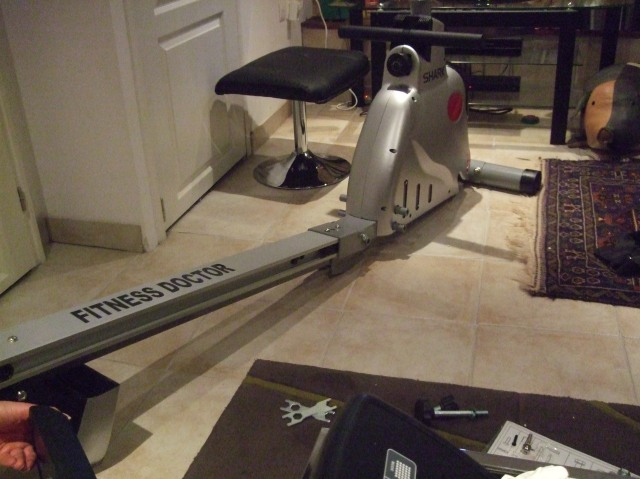 The rower is coming together!