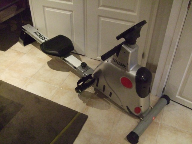 The Shark, fully assembled and ready for a workout.