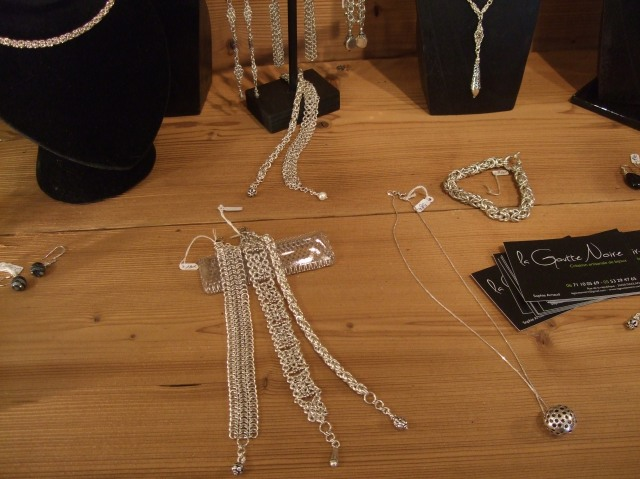 Some examples of Sophie's work in silver.