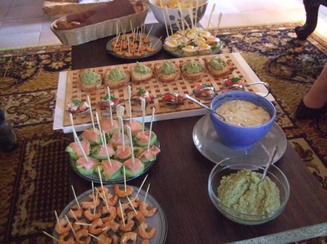 A stunning array of treats.