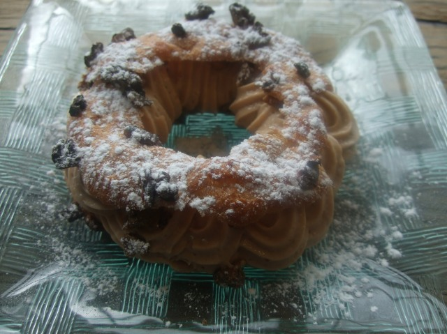 My Paris-Brest dessert, with Périgord Noir accents.