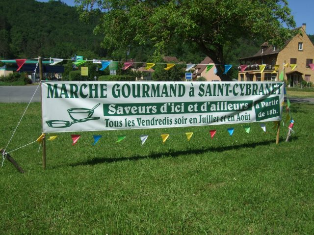 Announcing St. Cybranet's Marché Gourmand.