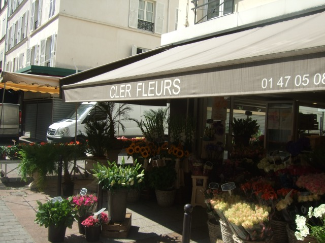 Another flower shop, near the top of the street.