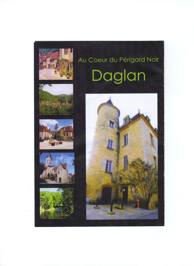 Here's the cover of a brand-new brochure on Daglan.