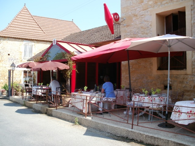 Street view of the restaurant.