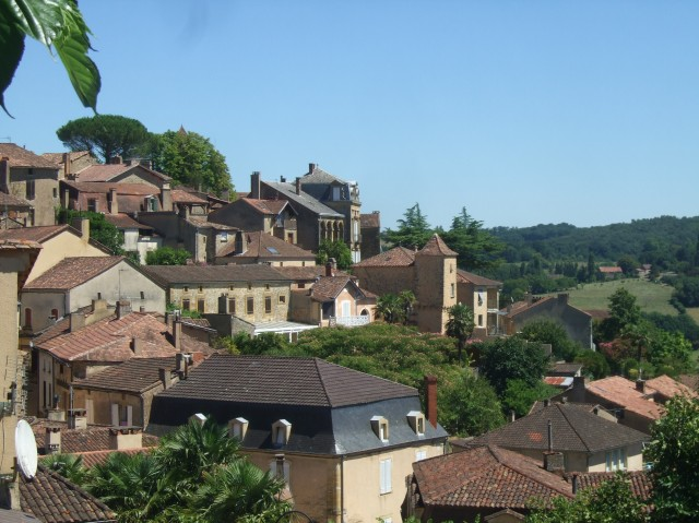 A nice view of Belvès.