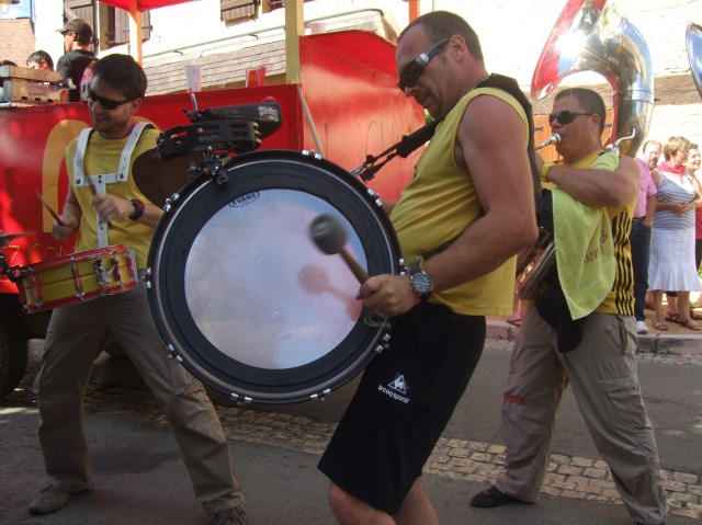 This guy could seriously hit this drum.