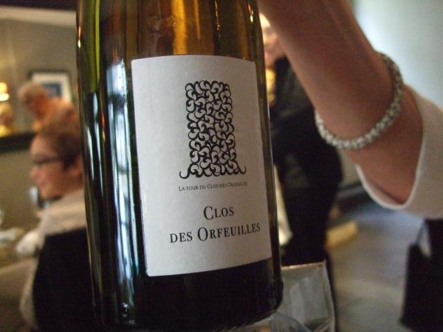 A crisp white wine to accompany the seafood.