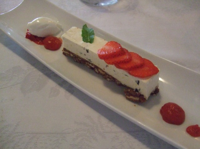 """In France, """"cheesecake"""" is """"cheesecake."""" This was a good one."""