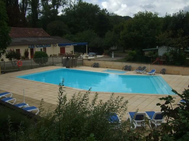 Nice pool, no tourists.