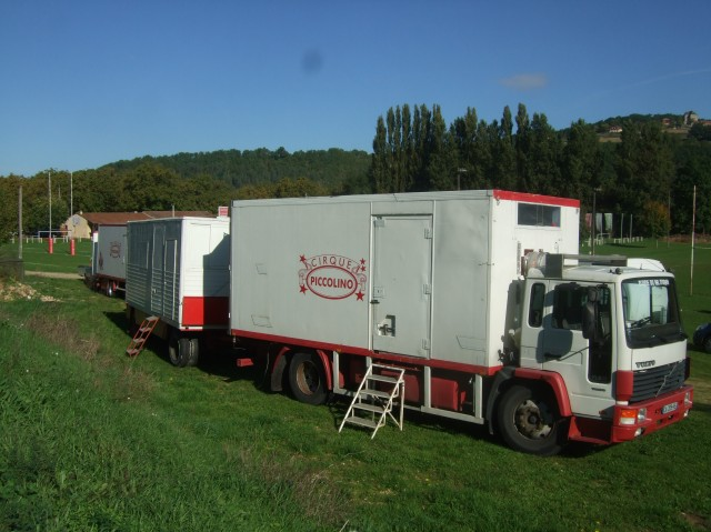 Here are the circus trailers.