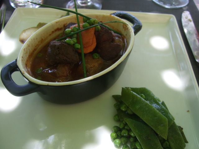 The lamb was incredibly tender, and the sauce was rich and delicious.