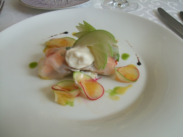 A truly delicate lobster dish.