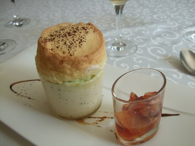 A cold soufflé with lots of extra flavours.