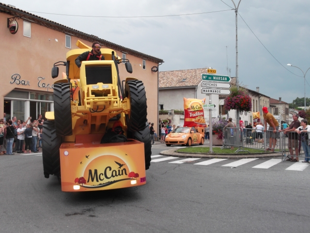 This tractor was just one of the McCain vehicles in the Caravan.